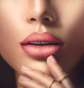 woman's sensual lips